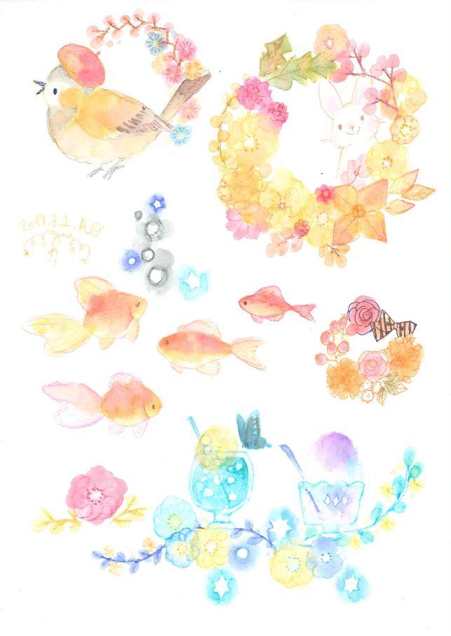 【12月実演情報】カラトアクェレル水彩色鉛筆 @名古屋