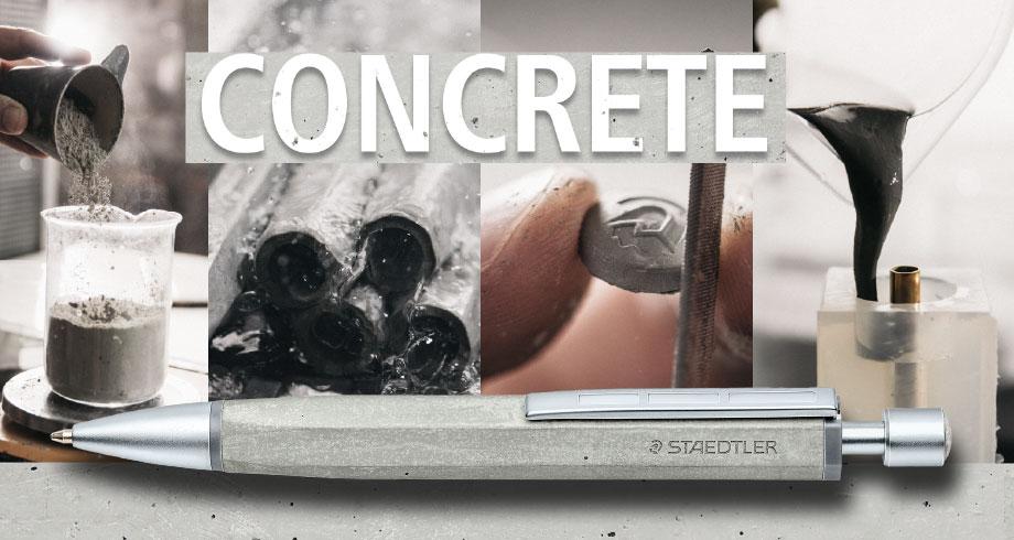 【新製品】ステッドラー コンクリート ボールペン 新発売